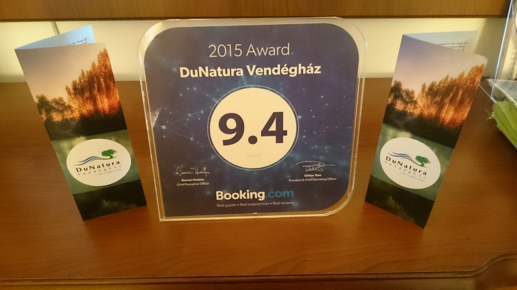 Booking.com kiváló értékelés