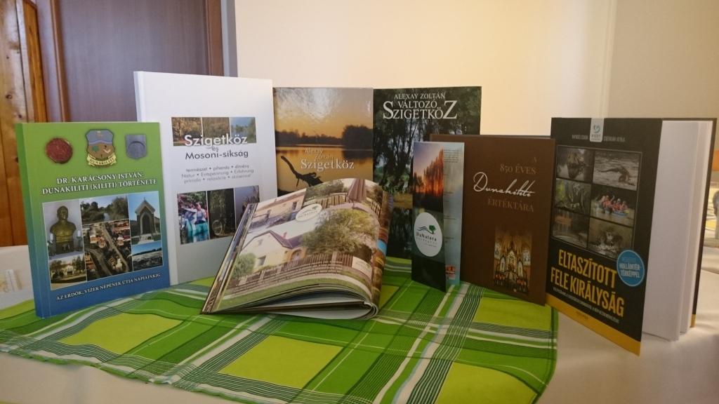 Szigetköz és Dunakiliti kiadványok
